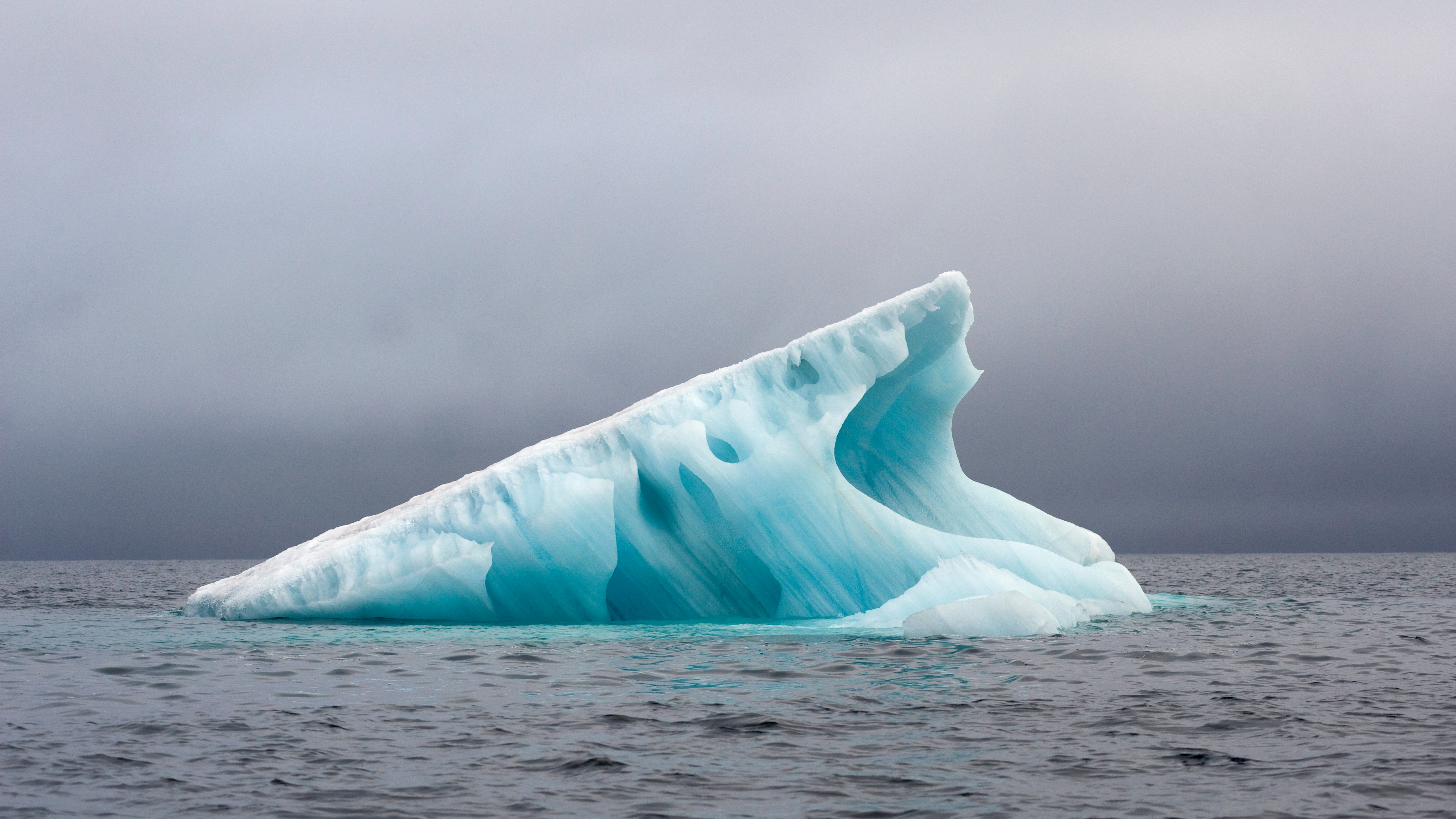Iceberg and climate change