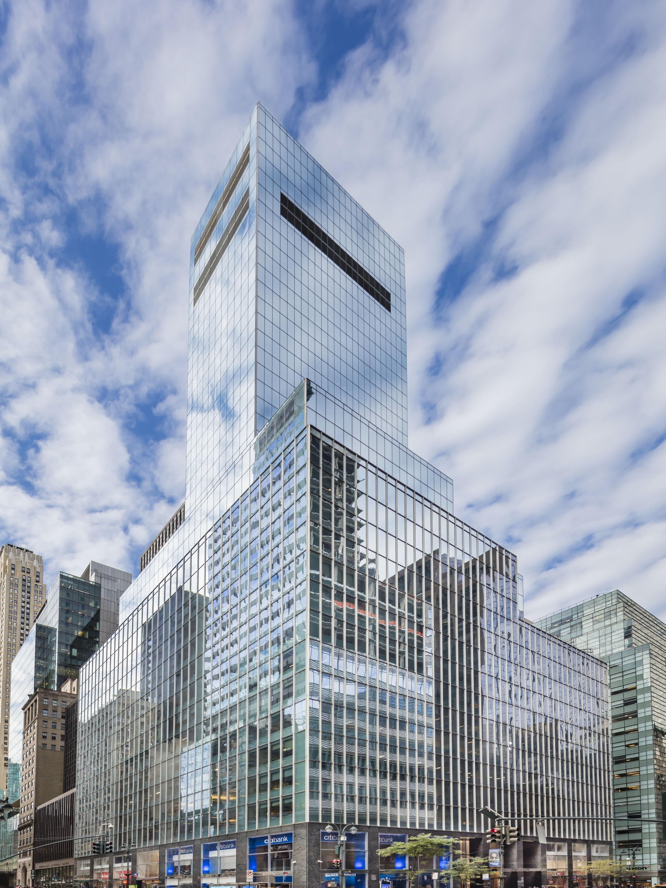 Munich Re kauft den Wolkenkratzer in der Madison Avenue 330, New York, designed von Ely Jaques Kahn,  LEED Gold zertifiziert