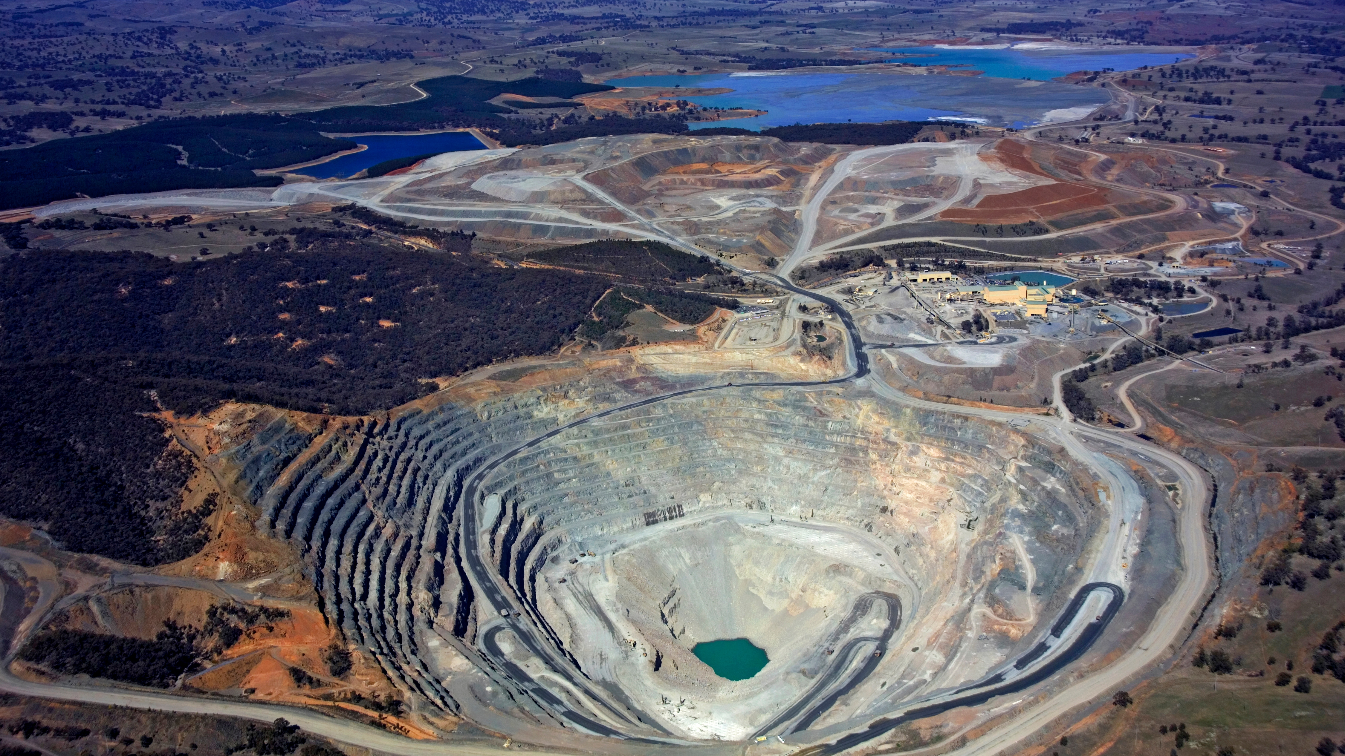 Open cut mine in Australia