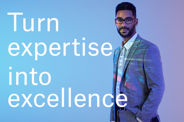 Turn expertise into excellence
