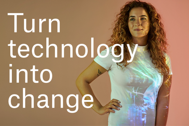 Turn technology into change