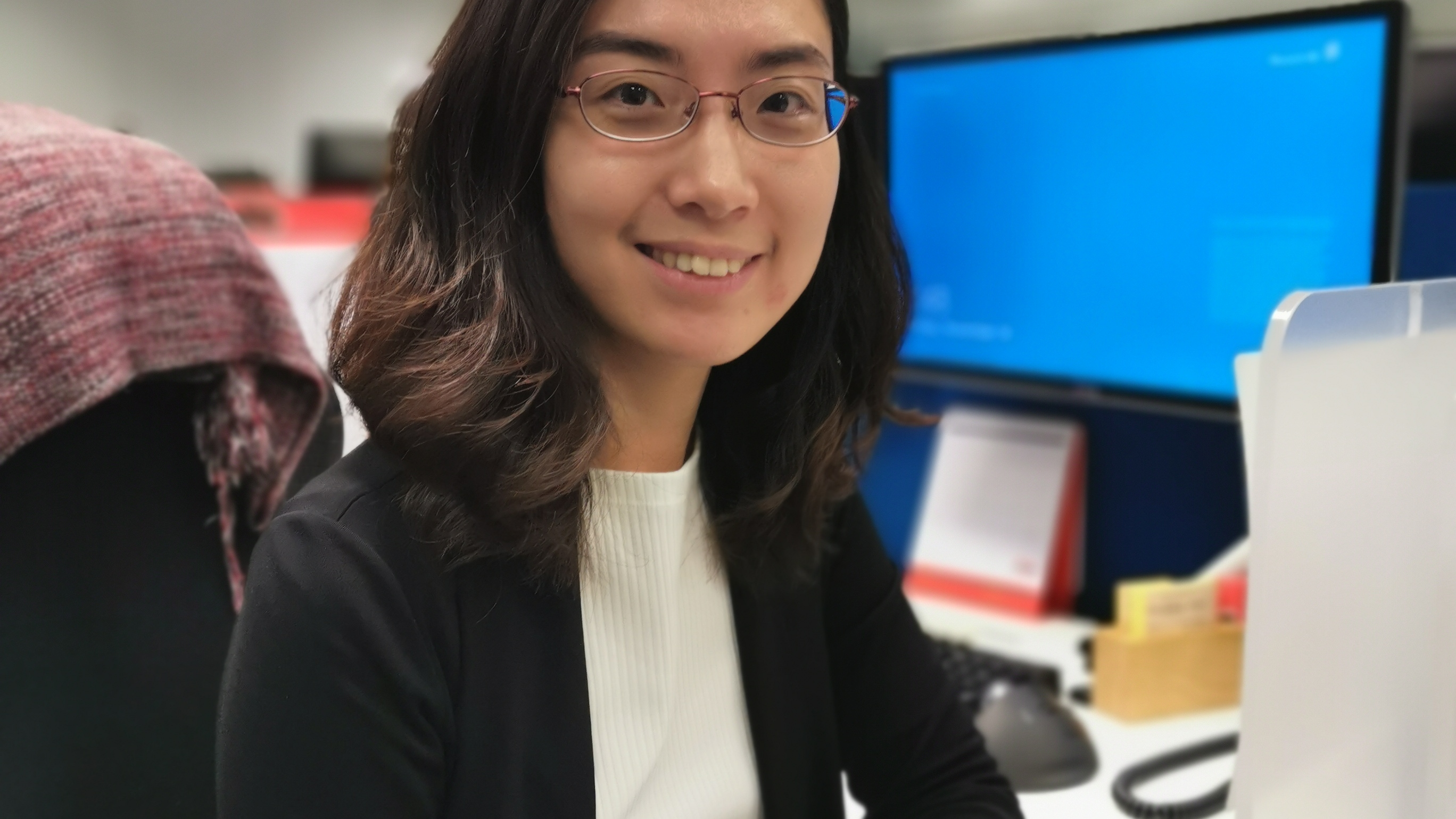 Portrait of employee Heidi Liu