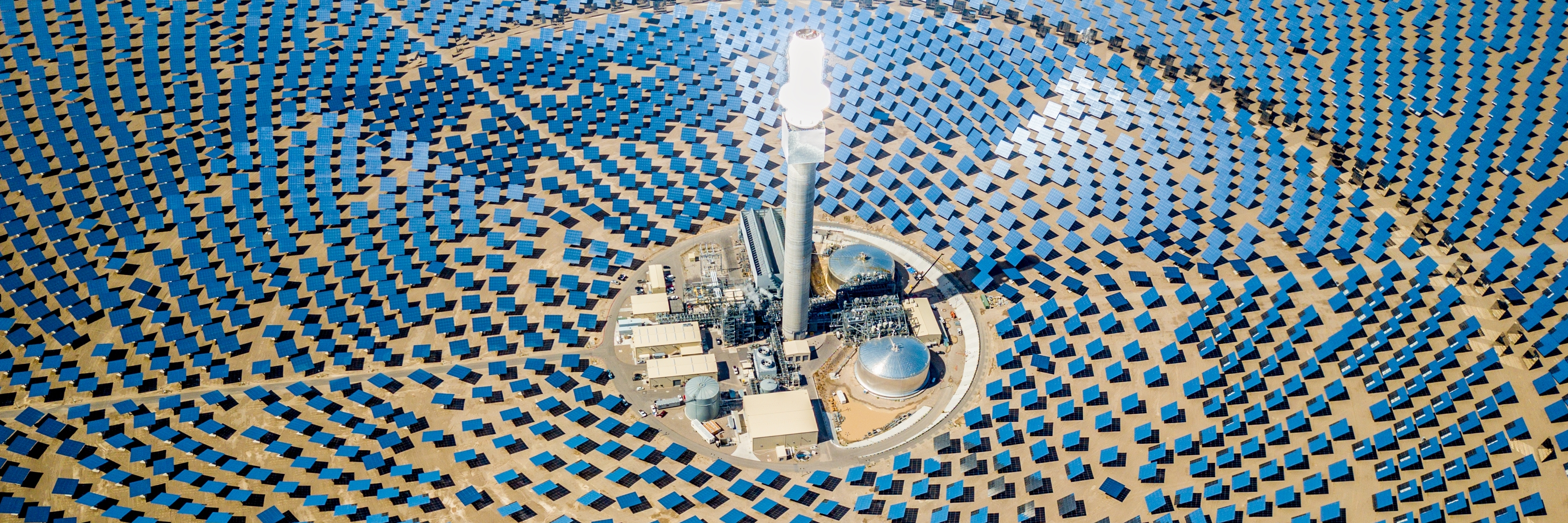 solar thermal power plant station