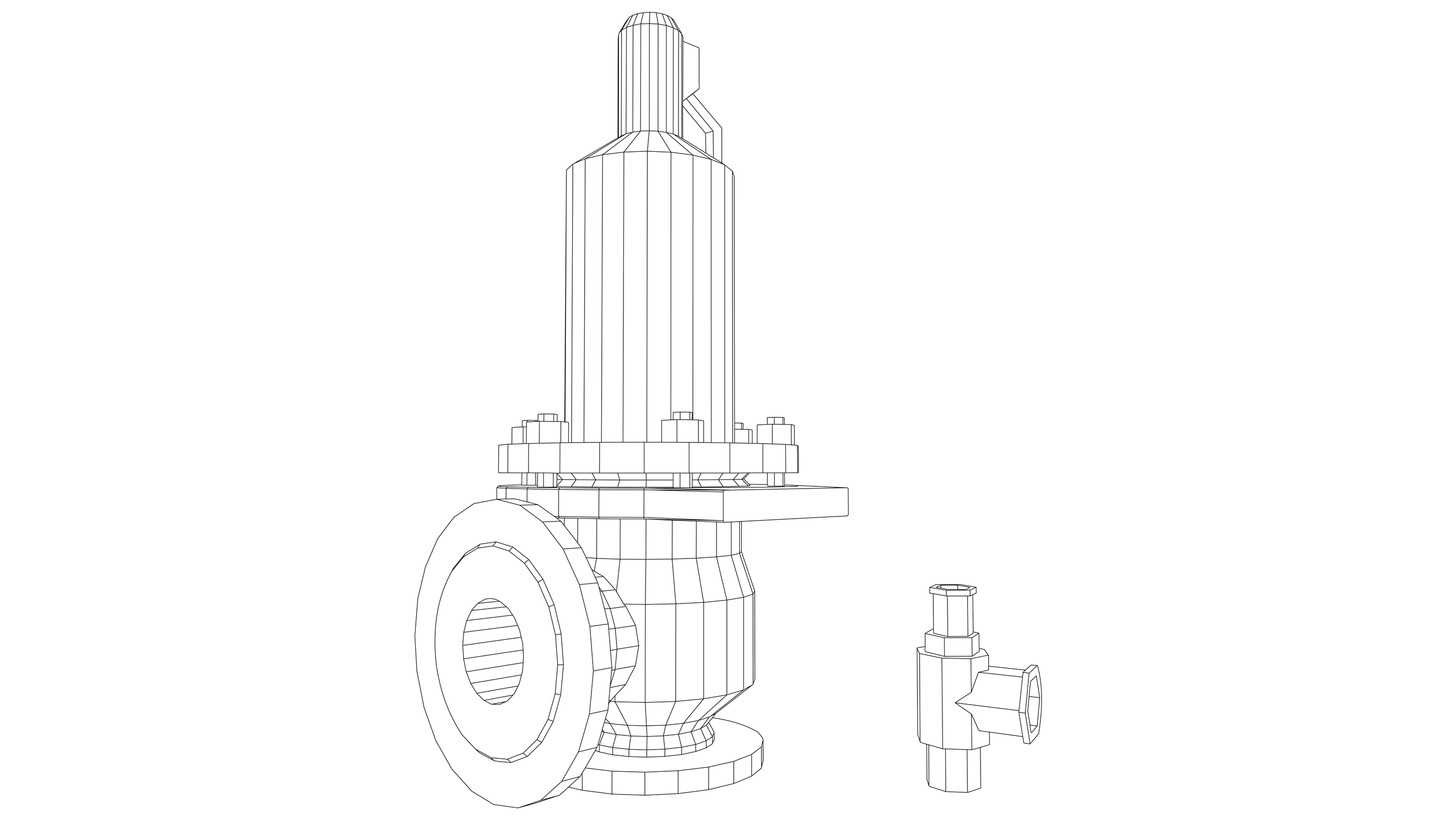 Vector Image: Safety Valves