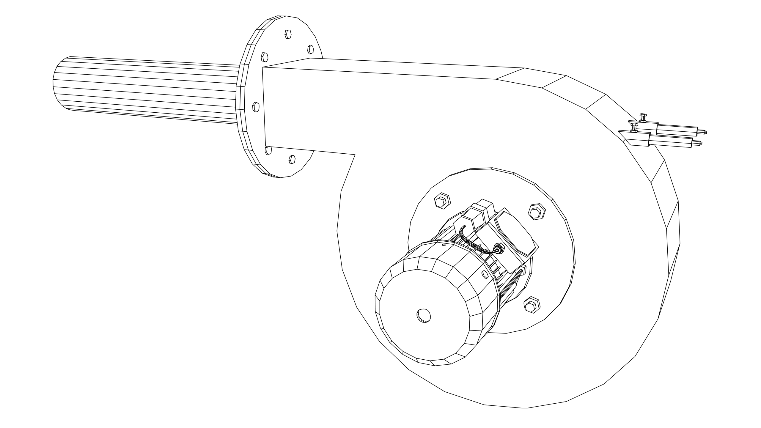 Vector Image: Automatic Gas Burner