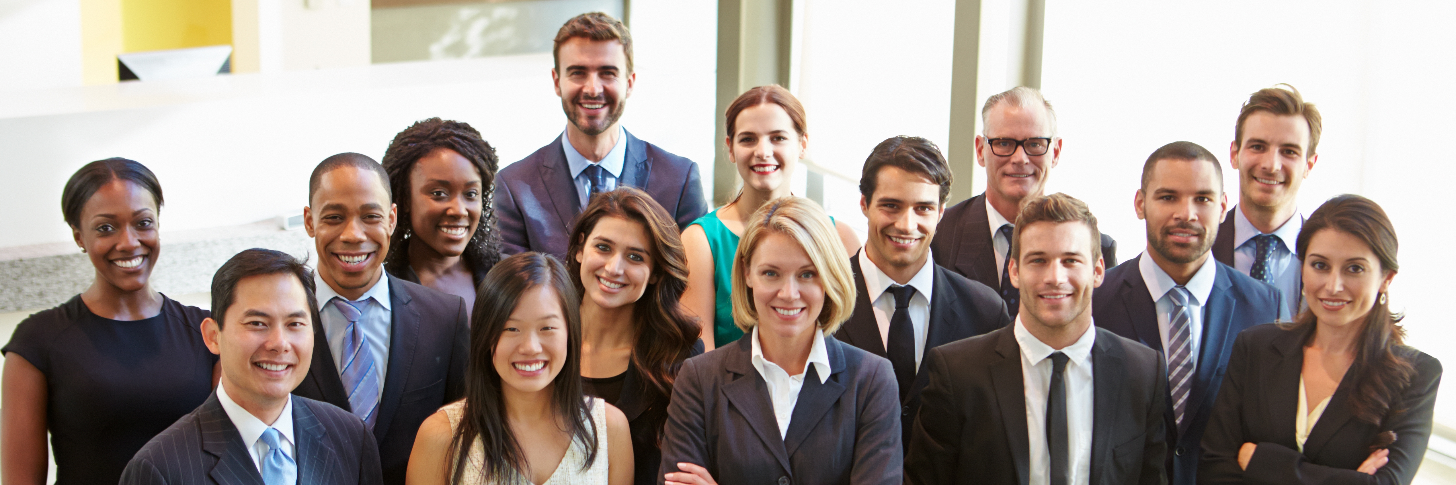 Diverse office work force - Employment Practices Liability (EPL)