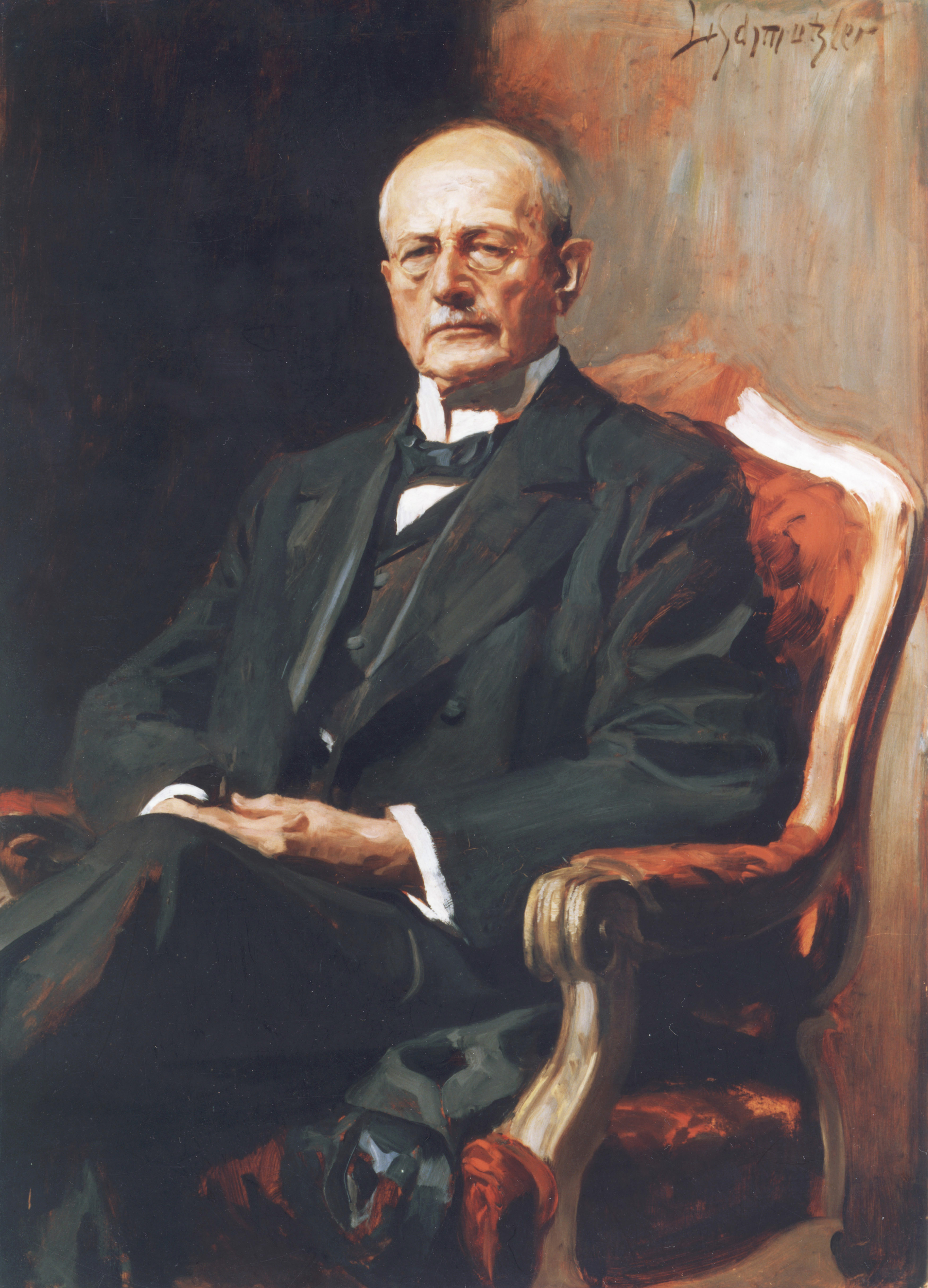co-founder of Munich Re and Chairman of the Board of Management from 1880 to 1921.