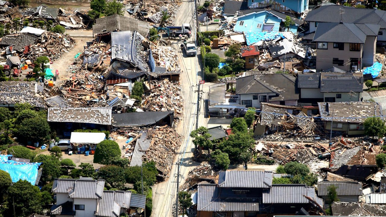 In April 2016, two powerful earthquakes within 28 hours caused major damage in southwestern Japan. In terms of the overall loss, this was the third most expensive earthquake event in Japan's history after the Tohoku earthquake in 2011 and the Kobe earthquake of 1995.
