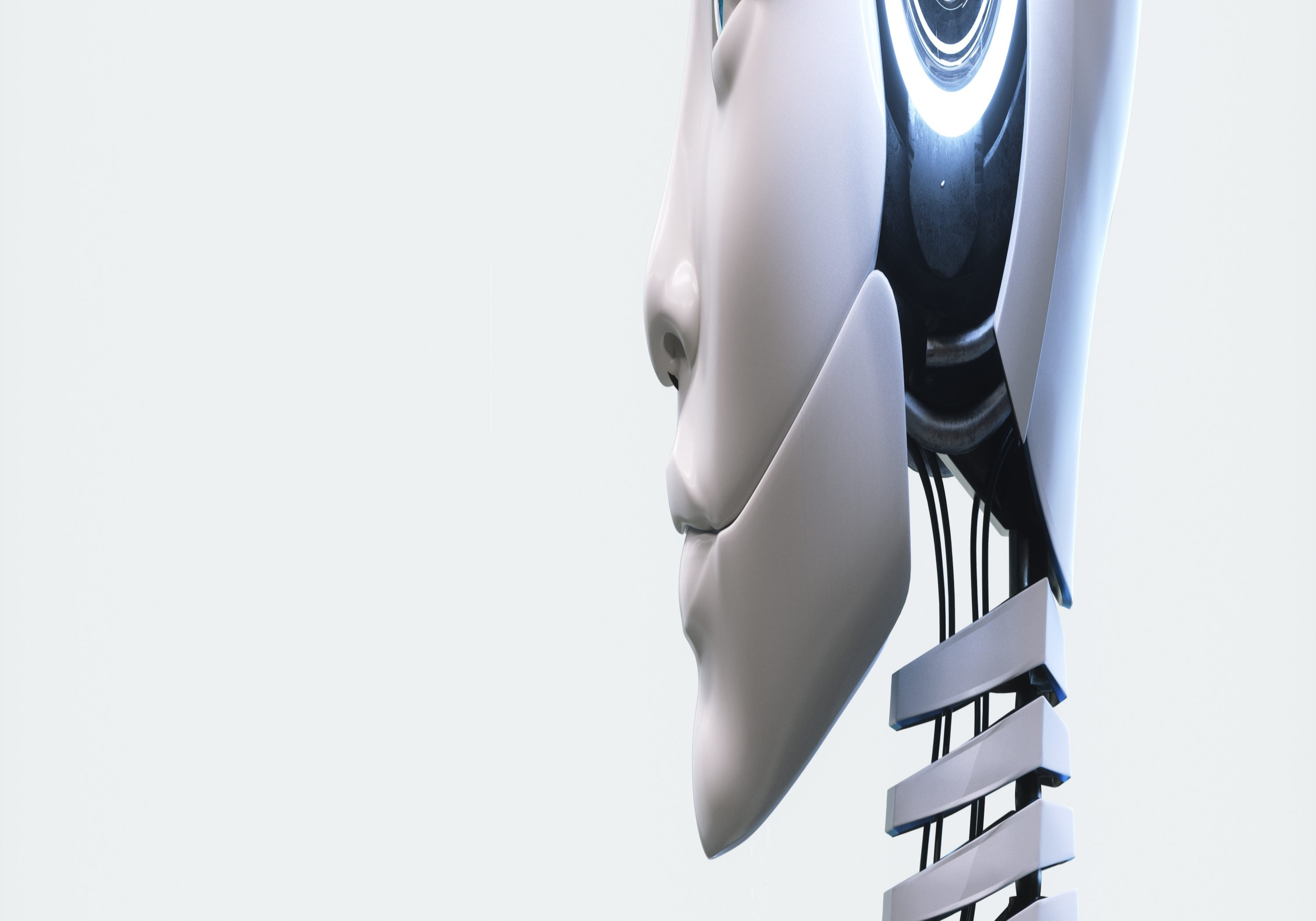 Head of a humanoid robot