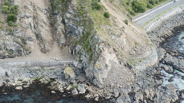 Multi-fault rupture in Kiwi quake