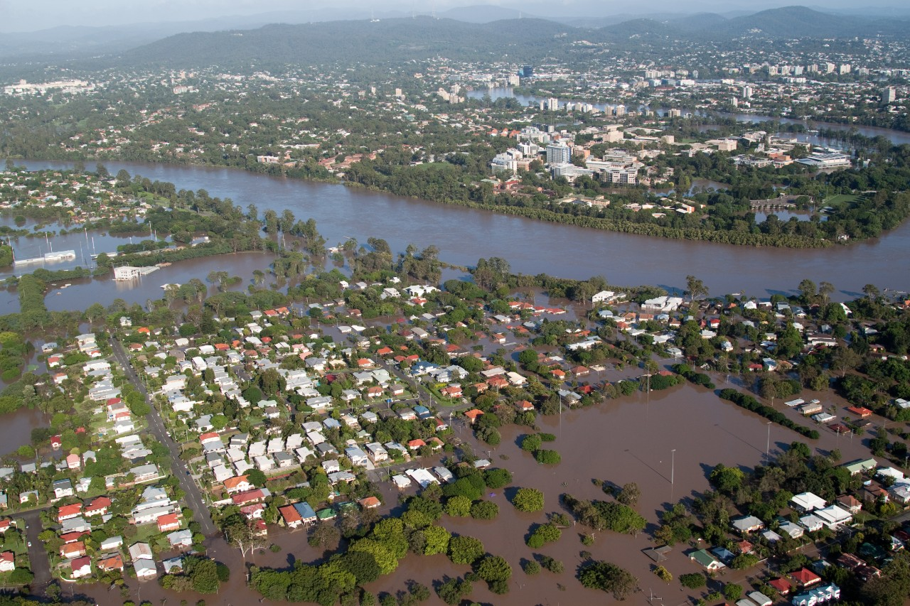 Floods in Brisbane, Australia
