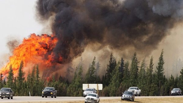 Firestorm in Fort McMurray