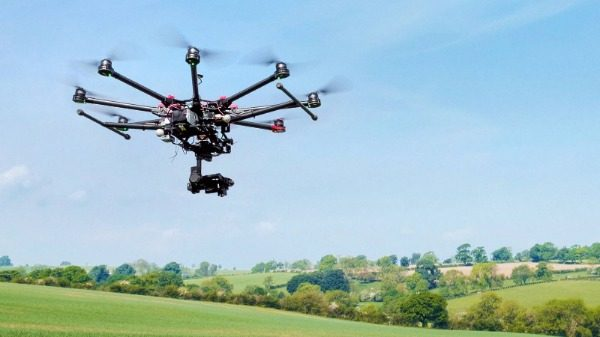 Drones trending on small farms