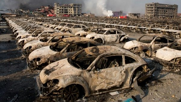 Explosion catastrophe in China